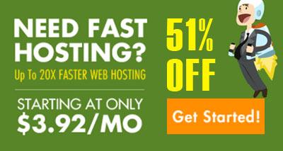 Fastest Website Hosting On Sale!